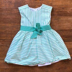 carters striped dress